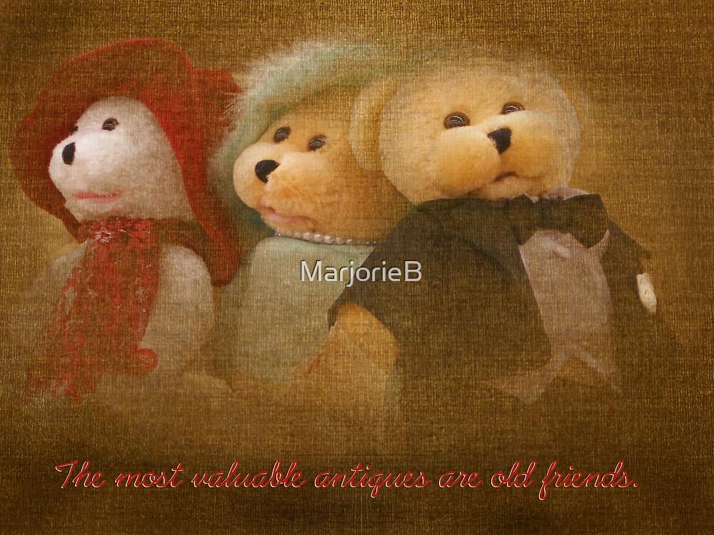 Teddys' Night Out (card) by MarjorieB