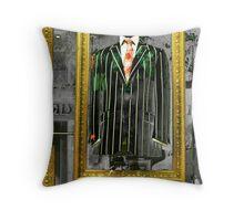 The Magic Suit Throw Pillow
