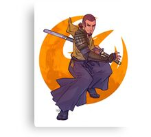 SWR Space Samurai Canvas Print