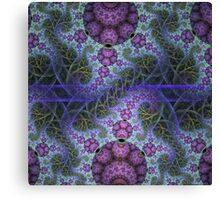 Mobius dragons and other patterns, fractal abstract artwork Canvas Print