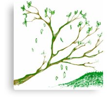Branching off Canvas Print