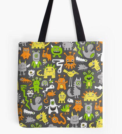 Monsters  Tote Bag