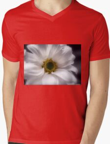 Tears On My Pillow.............Gerbera Mens V-Neck T-Shirt
