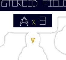 Asteroid Fox. Sticker