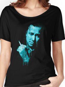Bill Hicks (blue) Women's Relaxed Fit T-Shirt