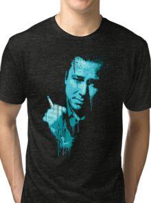 Bill Hicks (blue) Tri-blend T-Shirt