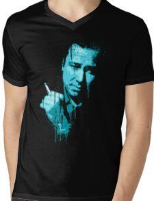 Bill Hicks (blue) Mens V-Neck T-Shirt