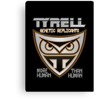 Tyrell Corporation Genetic Replicants  Canvas Print