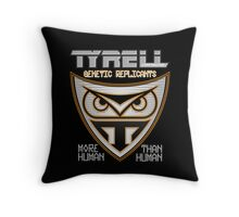 Tyrell Corporation Genetic Replicants  Throw Pillow