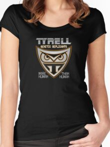 Tyrell Corporation Genetic Replicants  Women's Fitted Scoop T-Shirt