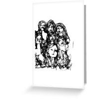 scribbler 'women' Greeting Card