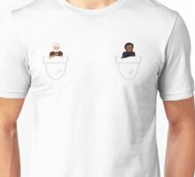 Javert and Valjean Unisex T-Shirt