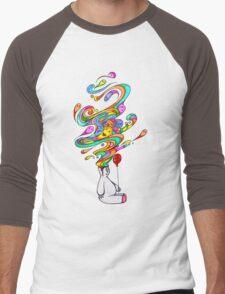 Polar Dreams Men's Baseball ¾ T-Shirt