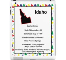 Idaho Information Educational iPad Case/Skin