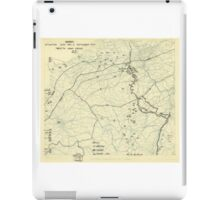 World War II Twelfth Army Group Situation Map September 14 1944 iPad Case/Skin