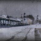 Wilmington Commuter Rail Station by Monica M. Scanlan