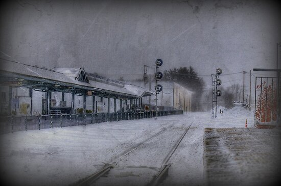 Wilmington Commuter Rail Station by Monica M. Scanlan