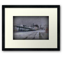 Wilmington Commuter Rail Station Framed Print