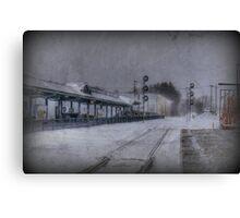 Wilmington Commuter Rail Station Canvas Print