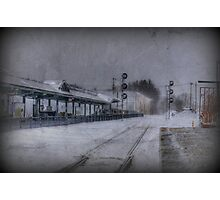 Wilmington Commuter Rail Station Photographic Print