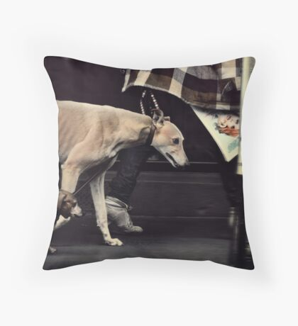 The Long & The Short of it..... Throw Pillow