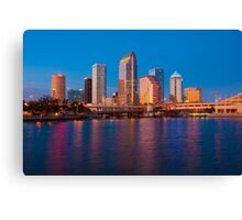 Downtown Tampa in Florida Canvas Print