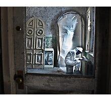 Man in the Door Photographic Print