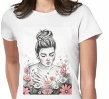 Daisy Daydream Womens Fitted T-Shirt