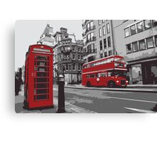 London #3 Canvas Print