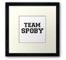 Pretty Little Liars Team Spoby Framed Print