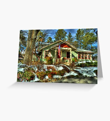 Tranquil Estate Greeting Card