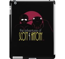 The Adventures of Scott and Antony iPad Case/Skin