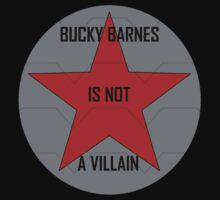 Bucky Barnes is not a Villain by geekgirl93