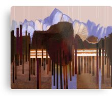 """Mountain View"" Metal Print"