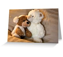Don't Worry.. I'll Keep You Warm! Greeting Card