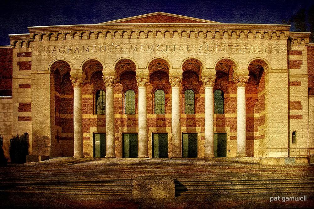 Sacramento Memorial Auditorium by pat gamwell