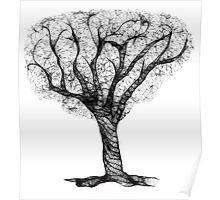 Scribbler Obsessed Tree Poster
