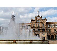 Seville - Plaza de Espana Photographic Print