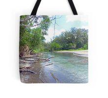 Tropical Estuary - Port Resolution, Tanna Tote Bag