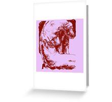 Scribbler Exp 9 Greeting Card