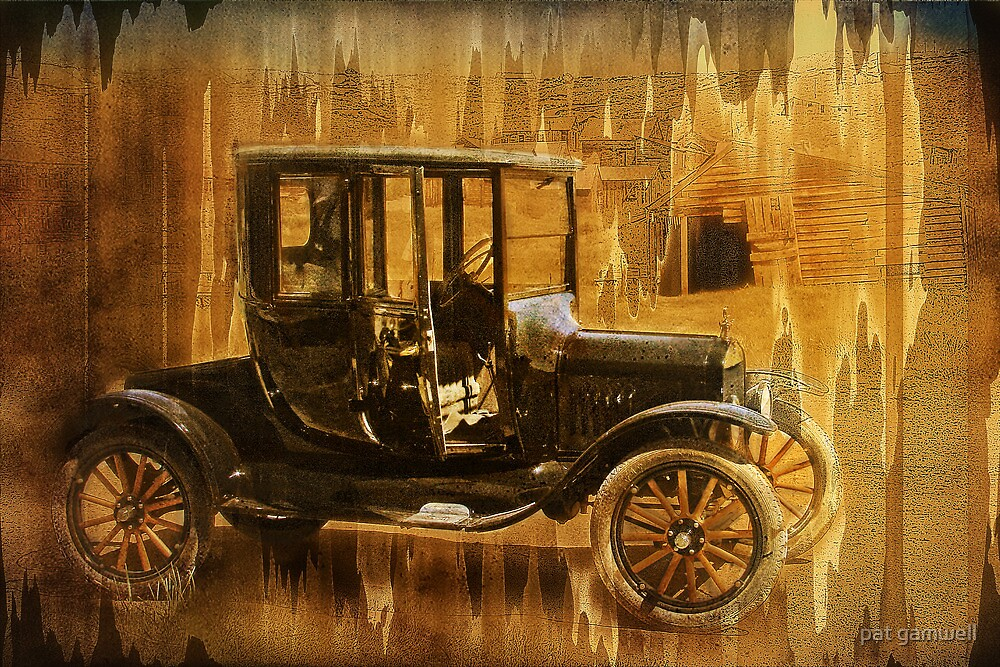 Your Chariot Awaits, Madame! by pat gamwell