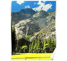 Mountains of Yosemite Valley Poster