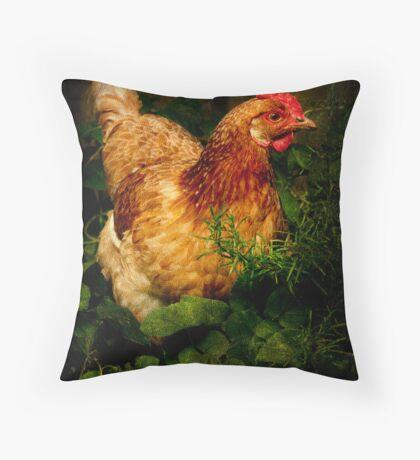 Lucille, Garden Ornament Throw Pillow