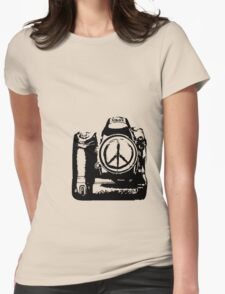 Aim For Peace Womens Fitted T-Shirt