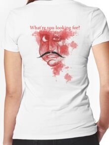 Crazy Killer 2 | What're you Looking for? Women's Fitted V-Neck T-Shirt