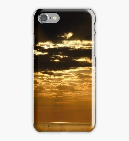 Sunset over Sanibel Island in Florida iPhone Case/Skin