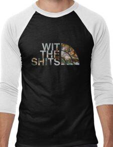 Wit The Shits Men's Baseball ¾ T-Shirt