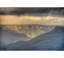 Silence - Jamison Valley, Blue Mountains World Heritage Area - The HDR  Experience Photographic Print
