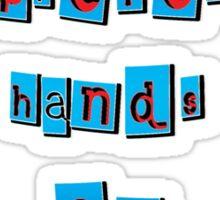 hand on experiences - sticker Sticker