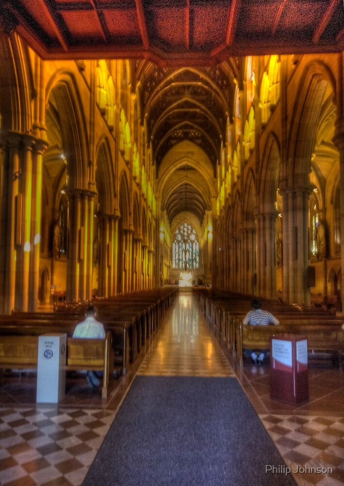 Glory - St Mary's Cathedral Sydney - The HDR Experience by Philip Johnson